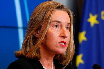 La alta representante para la Política Exterior de la Unión Europea informó que el encuentro se realizará el lunes 15 de octubre