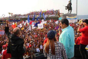 El mandatario venezolano advirtió que será el primero en llamar a las armas si se amenazan las riquezas nacionales