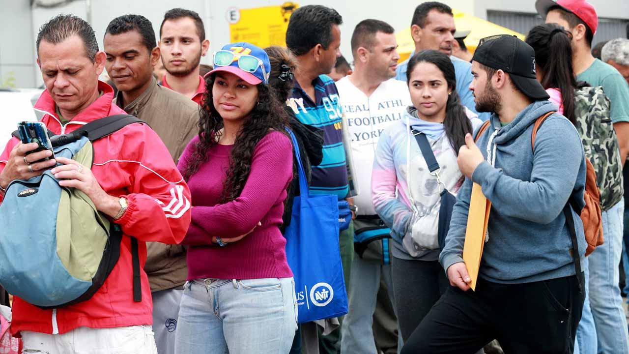 Un total de 237 mil ciudadanos venezolanos han ingresado a la nación en los últimos 6 meses
