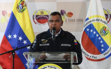 El Ministro de Interior y Justicia destacó que hasta el momento no se han reportado hechos irregulares