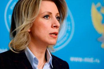 La Ministra de Asuntos Exteriores ruso, María Zajárova asegura que las elecciones son una gran oportunidad para lograr la reconciliación civil