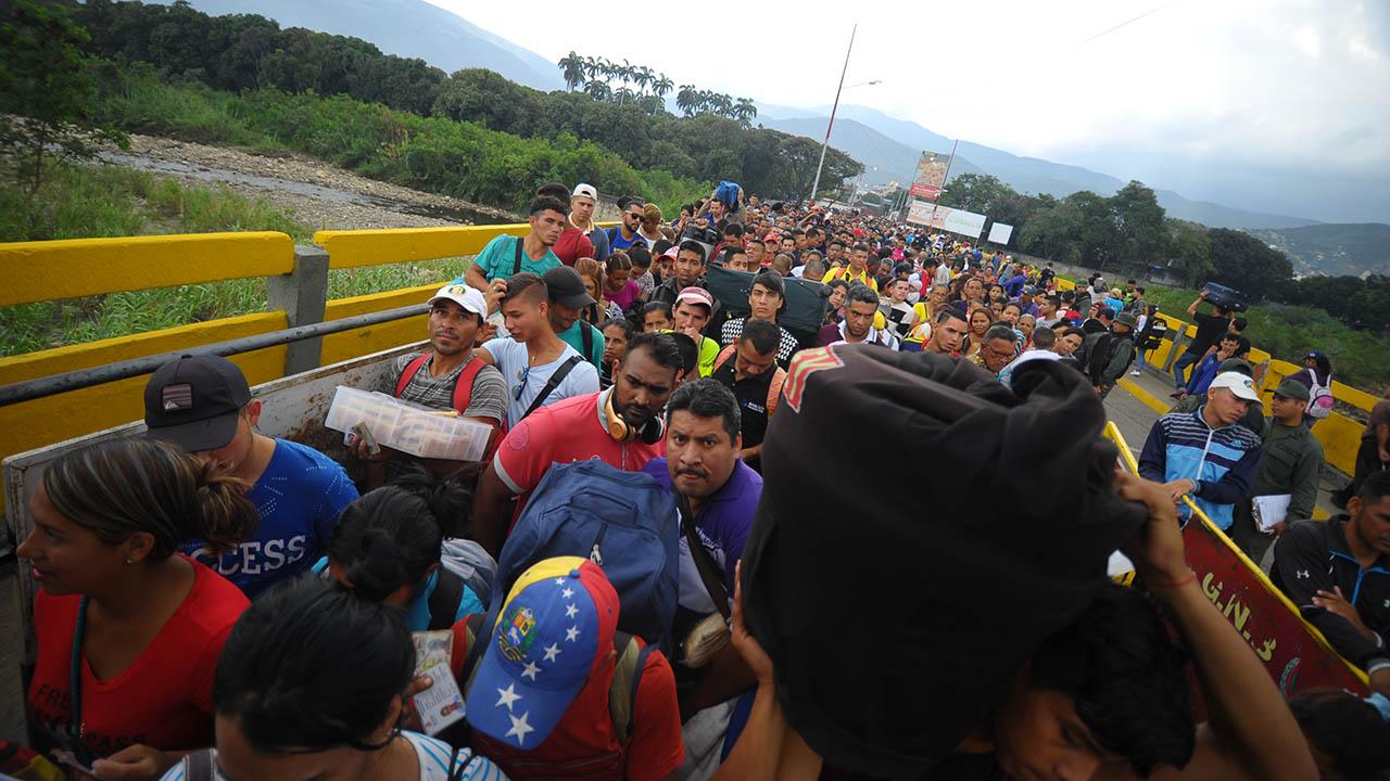 Al menos 2,3 millones de venezolanos han emigrado de su país desde 2014, según cifras de la ONU