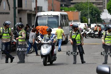 La Policía de Chacao ha registrado 17 delitos con 20 detenciones en lo que va de mes