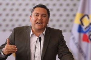 El candidato denunció diferentes irregularidades en torno a los comicios