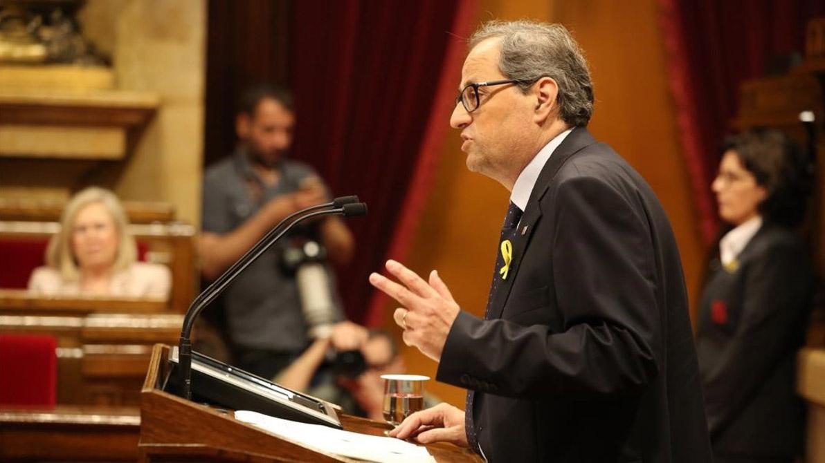 El diputado independentista resultó ganador con una mayoría plena
