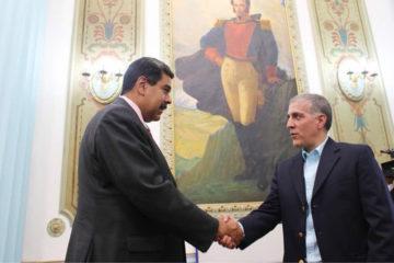 En el encuentro estuvieron presentes el vicepresidente de la república, Tareck El Aissami y el vicepresidente para la Cultura y Comunicación, Jorge Rodríguez