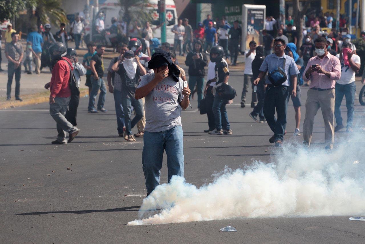 """Tres jóvenes son acusados de """"terrorismo """" en Nicaragua"""