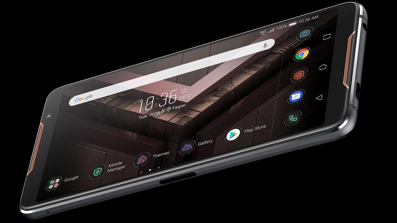 El ROGPhone está inspirado en una consola de videojuegos cuenta un rendimiento y jugabilidad impresionantes