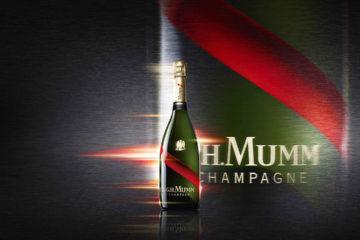 La marca Maison Mumm ha revolucionado el mercado con un sistema que permite disfrutar esta bebida en el espacio