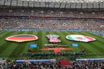 El hecho ocurrió luego del partido entra las selecciones de Alemania y México