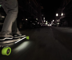 El ACTON Smart Electric Skateboard es la nueva propuesta de la compañía china