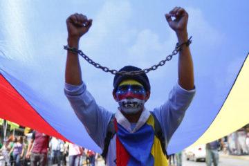 Los excarcelados participaron en las protestas antigubernamentales en el año 2017