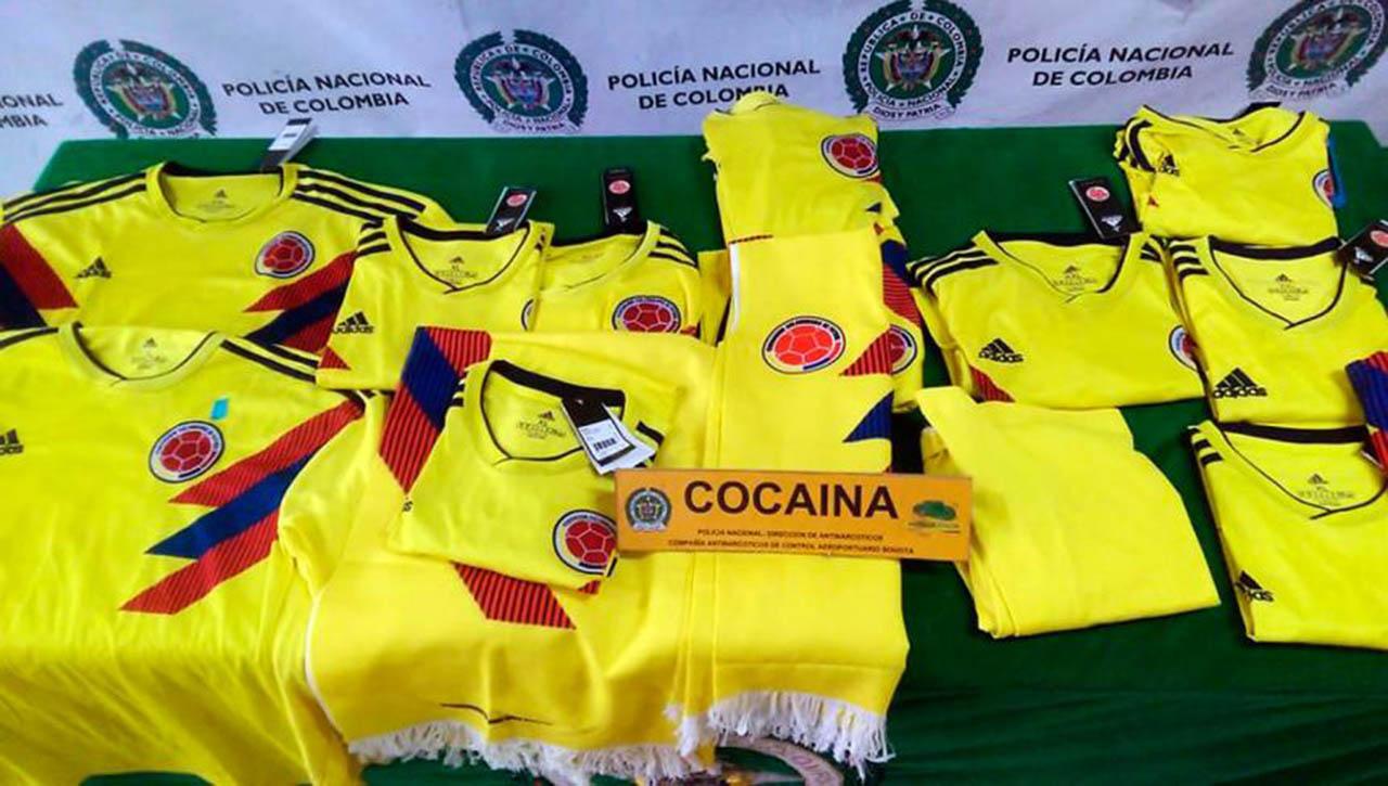 Cinco kilos fueron incautados por la Policía Antinarcóticos desde el aeropuerto internacional de Bogotá