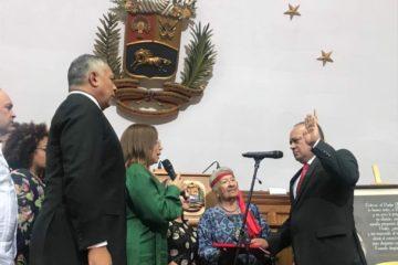 Diosdado Cabello juramentado presidente de la ANC