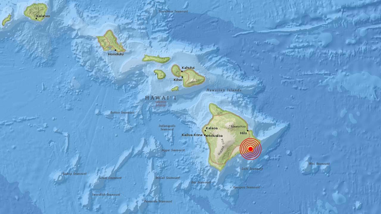Es el segundo movimiento telúrico de fuerte intensidad que se registra en la isla en los últimos tres días