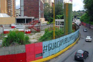 Las labores forman parte de los trabajos permanentes que se realizan en la principal vía que conecta los Altos Mirandinos con la ciudad capital