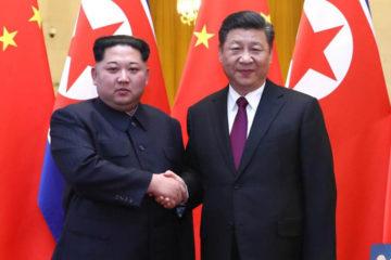 Es la tercera visita oficial que realiza el jefe norcoreano desde febrero pasado al gigante asiático
