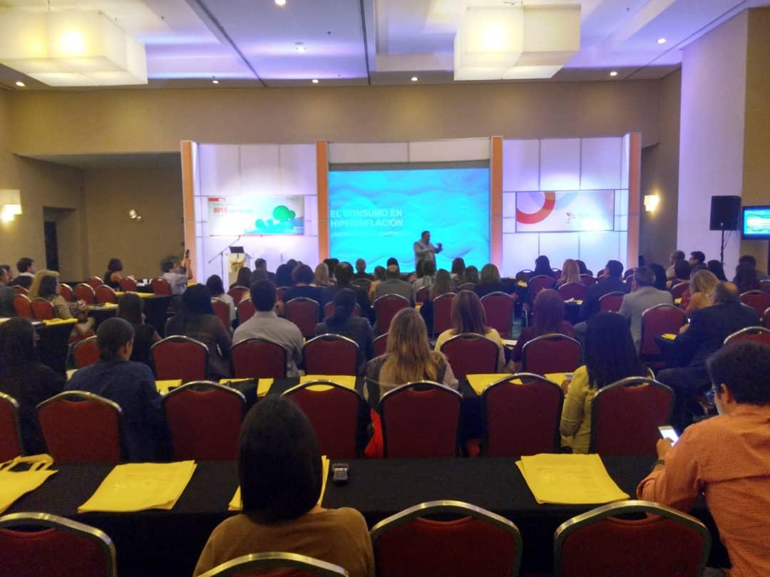 El encuentro se llevó a cabo desde el Hotel Renaissence en Caracas y contó con la participación de diversas empresas