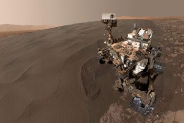 El todoterreno Curiosity descubrió gran variedad de compuestos orgánicos en rocas del planeta rojo