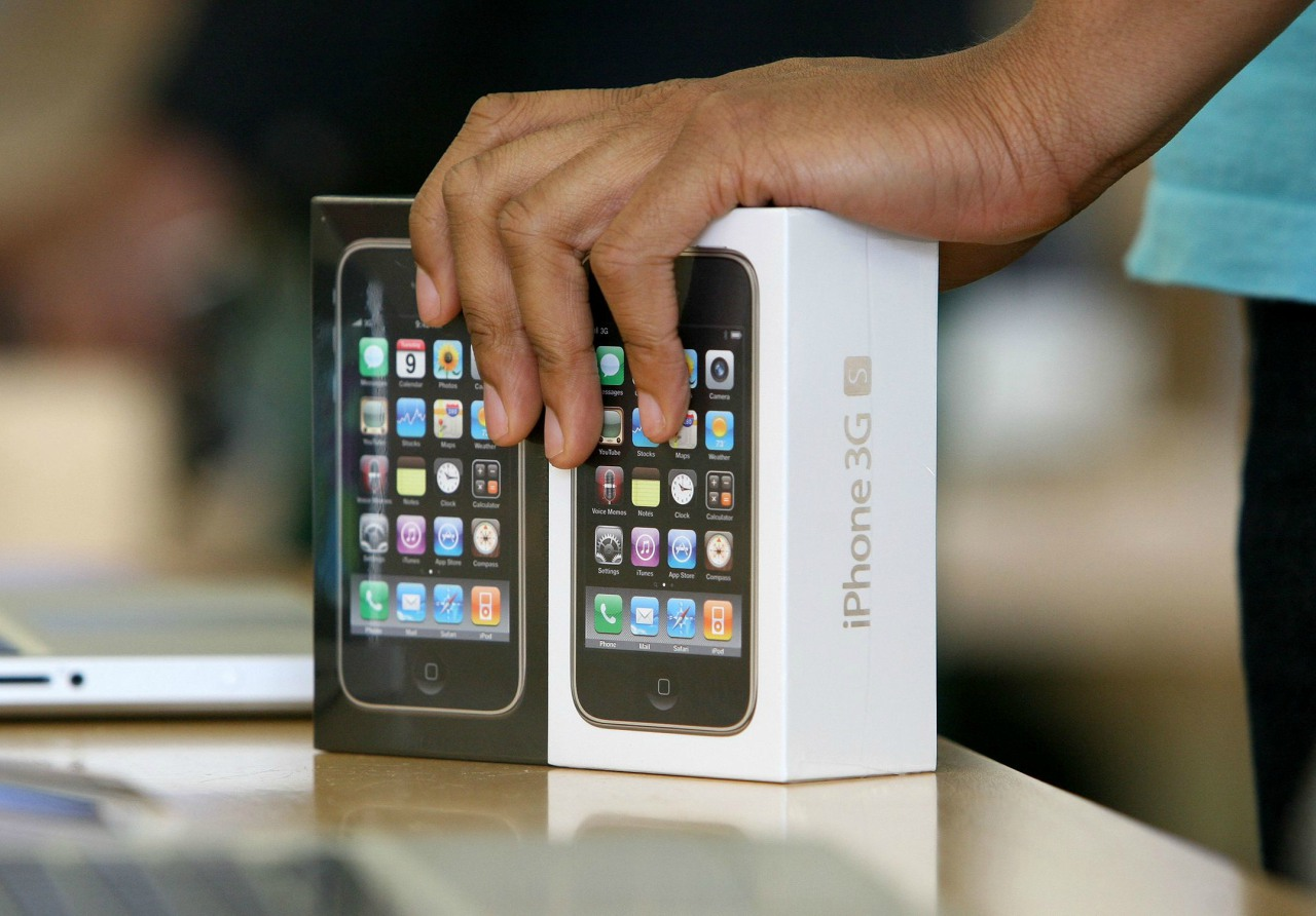 El iPhone 3GS es relanzado al mercado