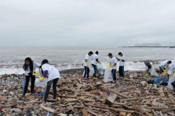 Limpiaron playa Carpayo durante el Día Mundial del Ambiente