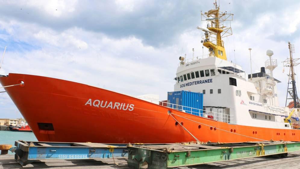 Se espera que más de 600 personas desembarquen en los puertos españoles