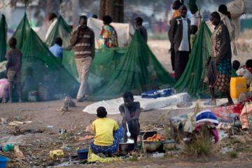 Según una portavoz del Programa Mundial de Alimentos informó que en Sudán del Sur la miatd de su población puede padecer de hambre