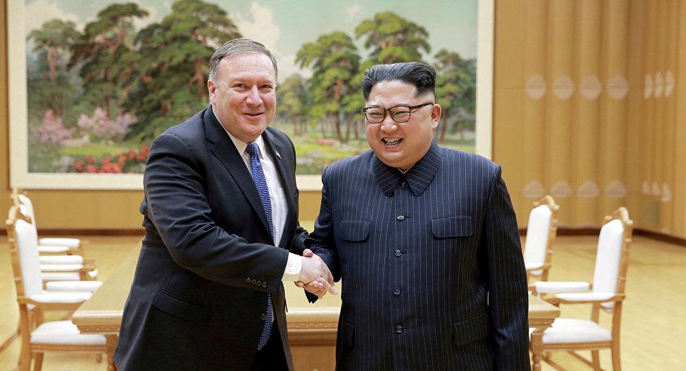 Mike Pompeo y Kim Jong-un se verán las caras este 5 de julio