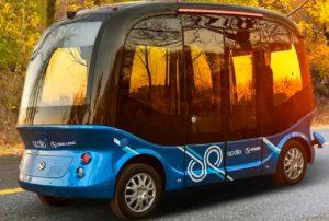 Autobuses no tripulados llegará a China y Japón en el 2019