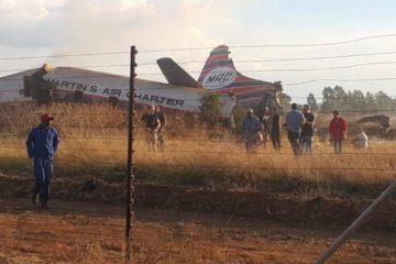 Un muerto y 19 heridos deja accidente aéreo en Sudáfrica