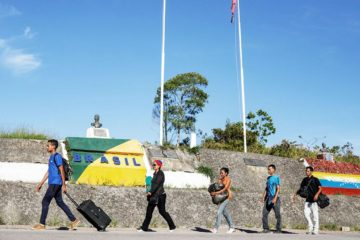Más de 17.000 venezolanos solicitaron refugio en Brasil