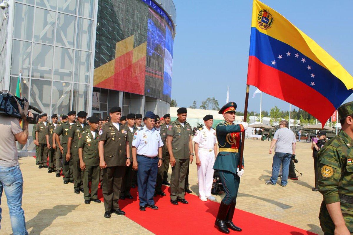 Venezuela participará en los Juegos Militares Rusia 2018