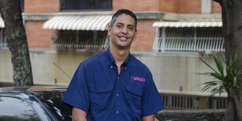Para Richard Navarro, su servicio en la empresa le ha dejado experiencias muy significativas