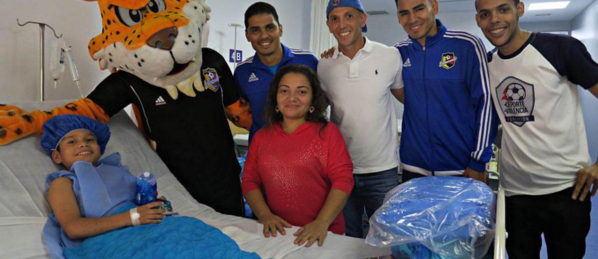 Sarkis Yammine, vocero de la Fundación, reiteró que continuarán dando su apoyo en el centro de salud