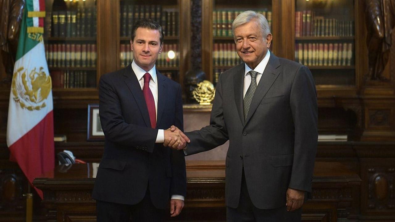 La reunión se realizó desde el Palacio Nacional de México donde se debatió acerca de la economía del país azteca