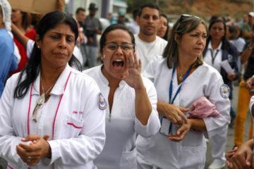 El aumento salarial y la dotación de insumos en los hospitales son la causa de 36 días de protestas