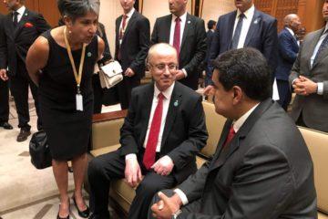 Presidente Maduro sostuvo encuentros con Rusia y Palestina