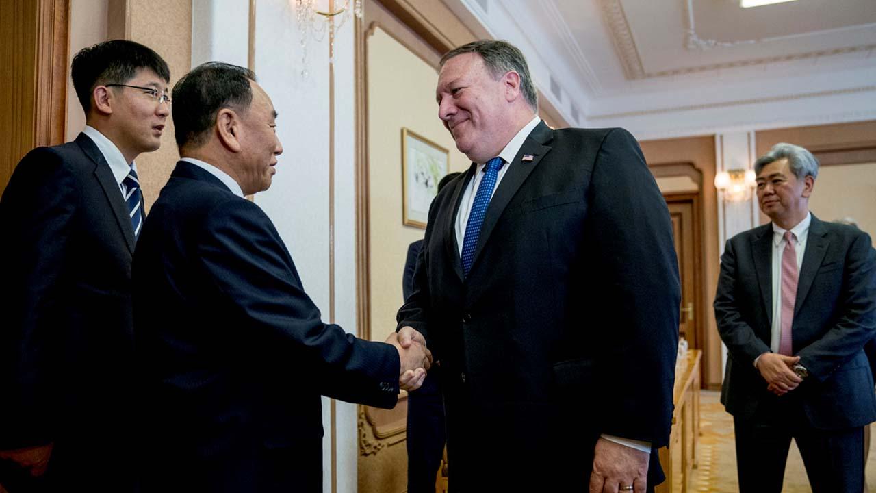 Las declaraciones se dan luego de la visita de dos días que realizara el secretario de Estado estadounidense a la nación norcoreana