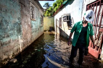 Lluvias en Ciudad Guayana dejan más de 251 personas refugiadas