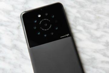 Lanzarán al mercado teléfono inteligente con nueve cámaras