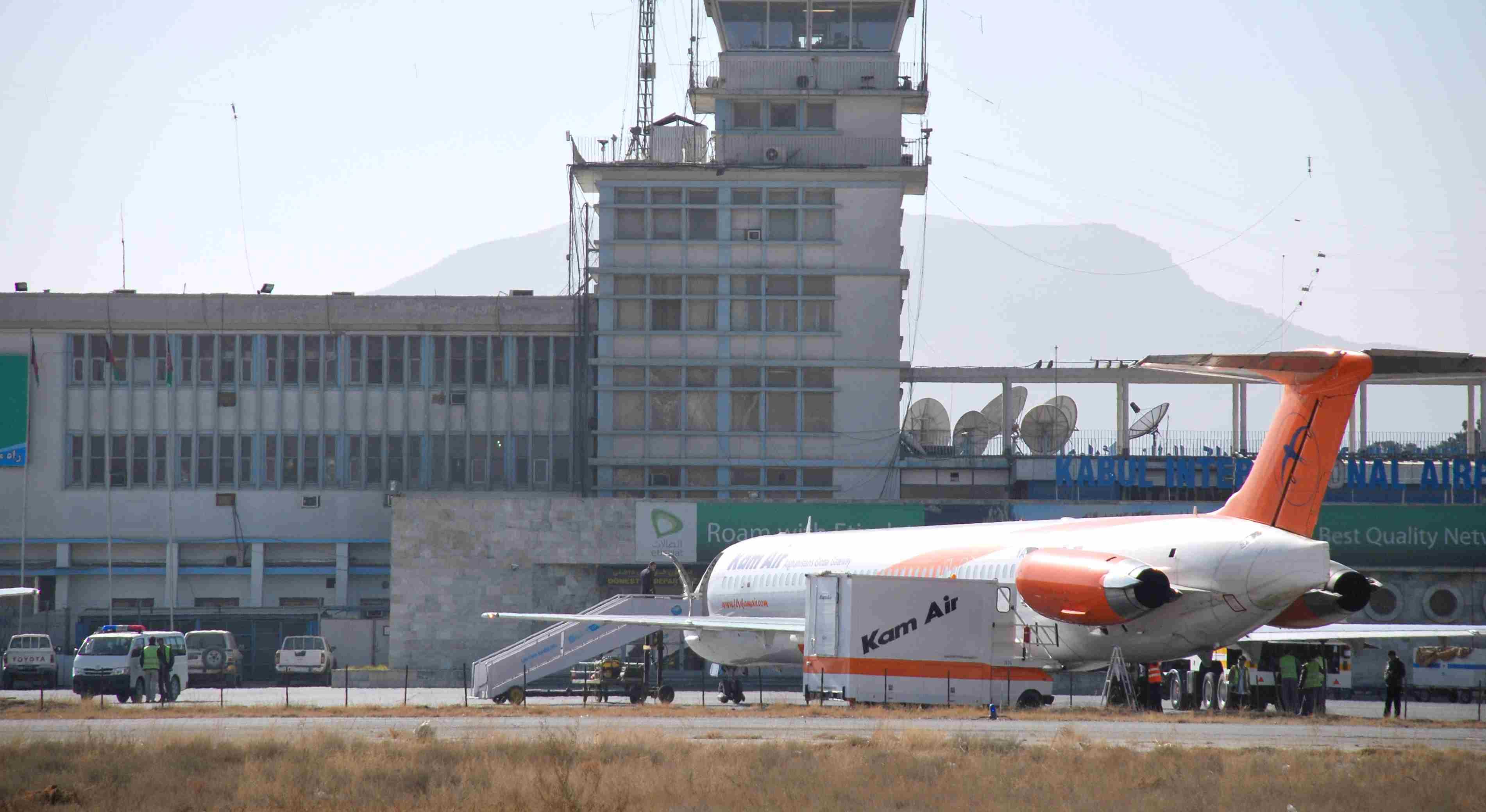 DOBLE LLAVE - El hecho se produjo minutos después del regreso del vicepresidente del país el generalAbdul Rasheed Dostum
