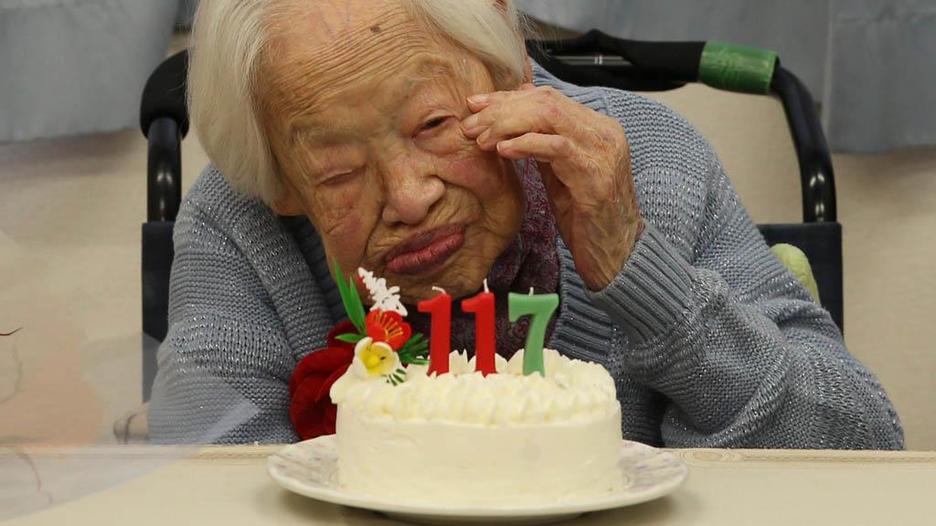 Murió la mujer más anciana del mundo a los 117 años