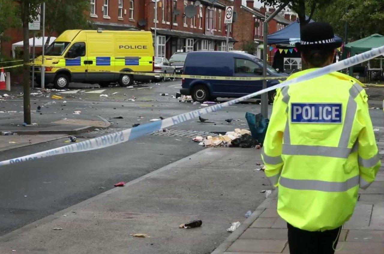 Diez heridos en un tiroteo en Manchester tras fiesta de carnaval