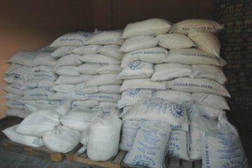 Incautados 253 sacos de azúcar industrial en La Candelaria
