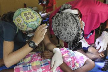 Un total de 380 personas fueron atendidas en un operativo odontológico, donde participó el proyecto Mayú