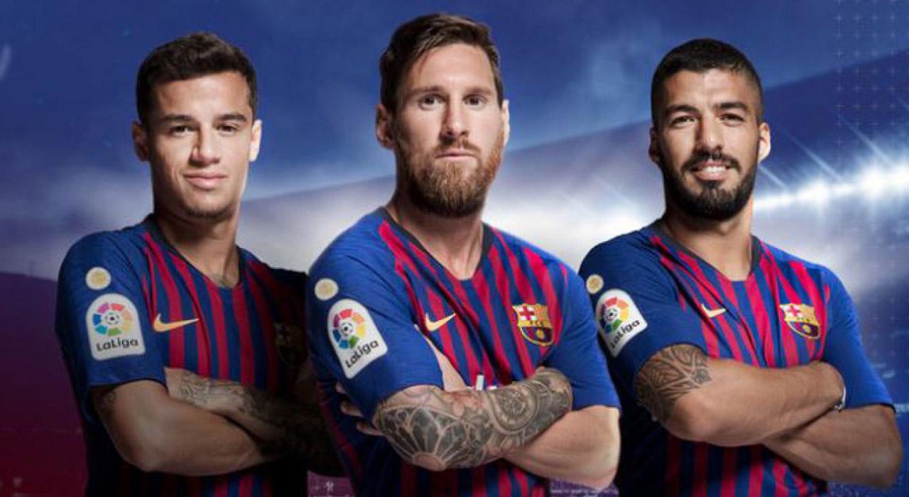 El símbolo será estrenado el próximo sábado 18 de agosto durante la apertura del partido entre el Barcelona y el Deportivo Alavés