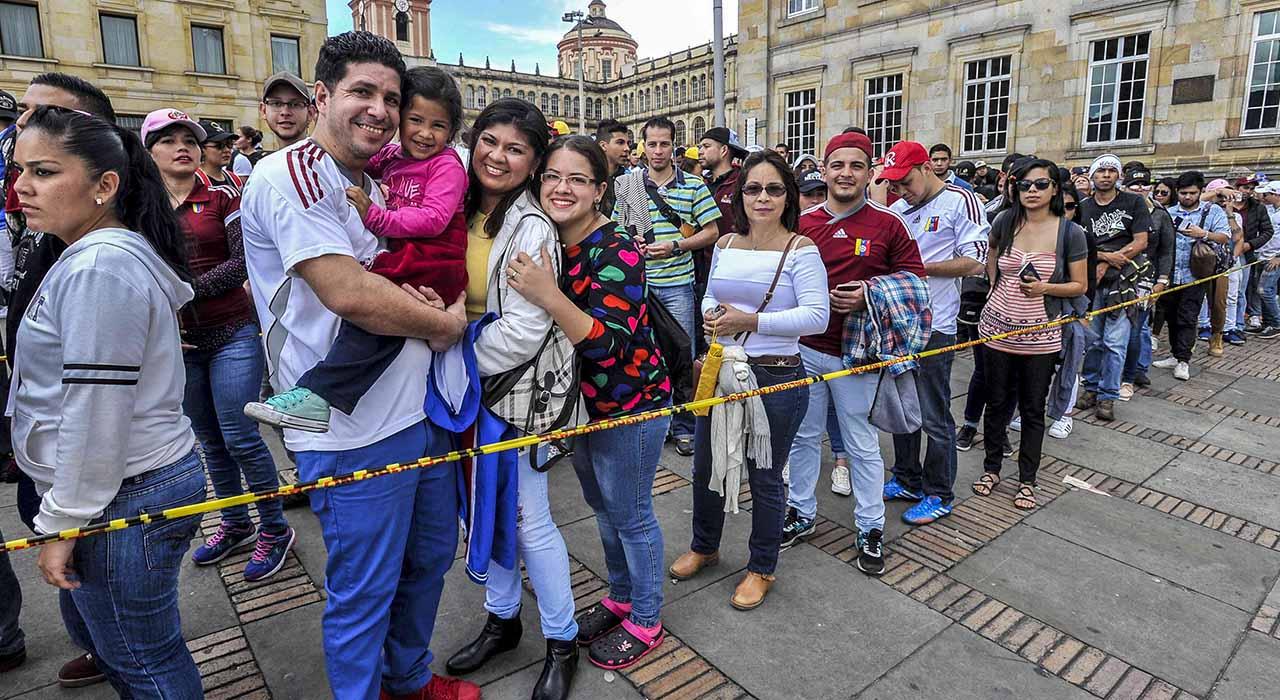El preámbulo jurídico busca establecer obligaciones y derechos de migrantes, según informó el canciller, Carlos Holmes Trujillo
