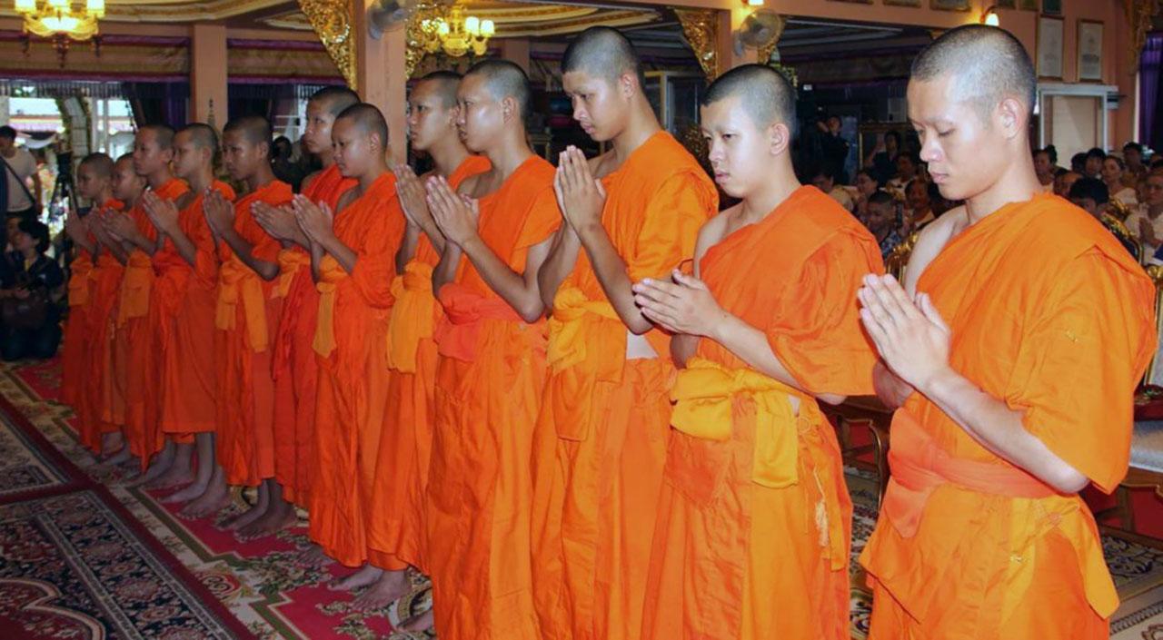 Los pequeños habían permanecido en la sede religiosa como signo de gratitud por haber sobrevivido al accidente