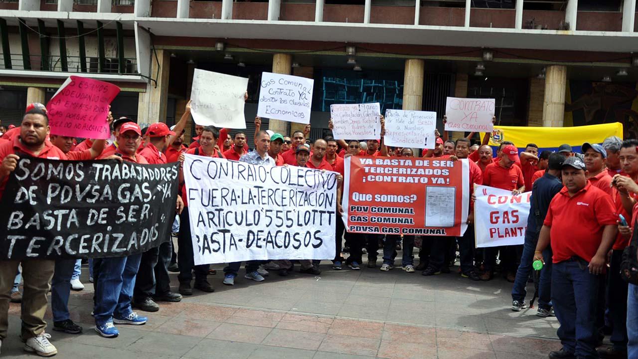 Los manifestantes afirmaron que las protestas continuarán hasta que el Gobierno y las autoridades den respuestas concretas