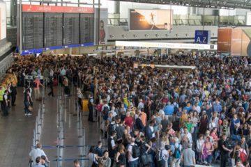 Desalojan terminal del aeropuerto de Fráncfort en Alemania